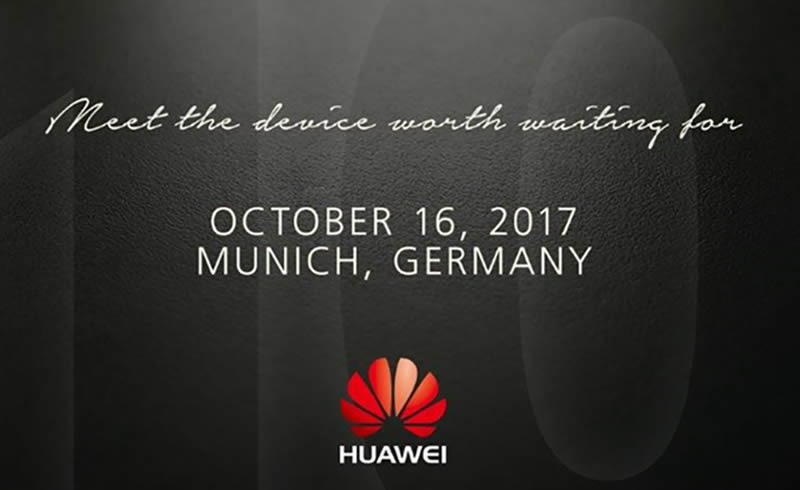 Huawei flagship event launch 2017