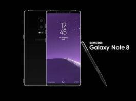 Samsung Galaxy Note 8 look