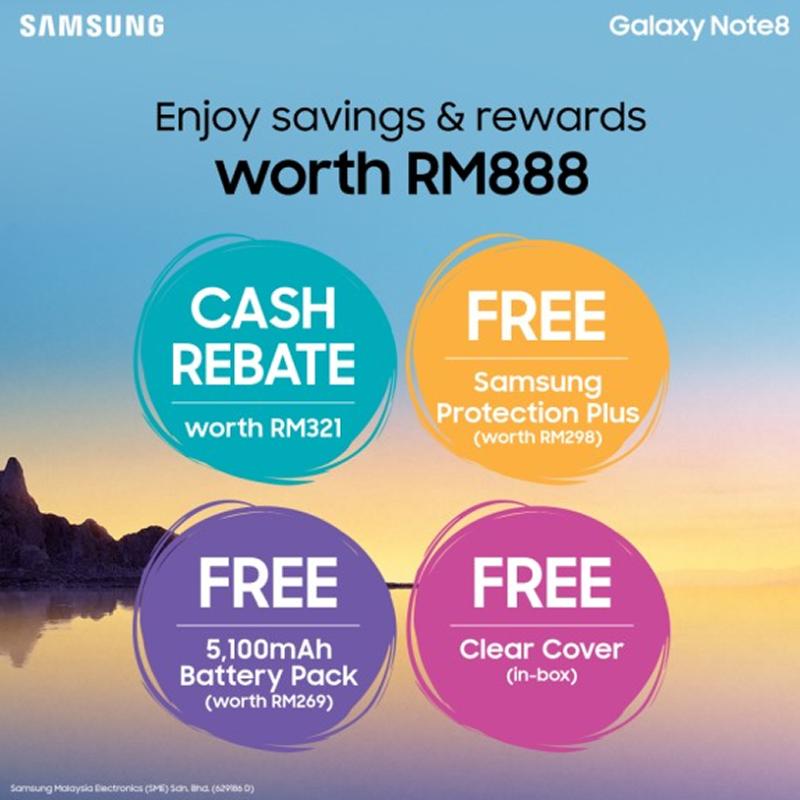 Samsung galaxy Note 8 price