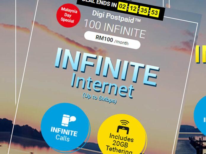 Digi Postpaid 100 Infinite poster