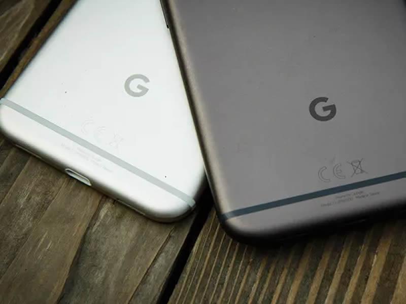Google Pixel, Google Logo