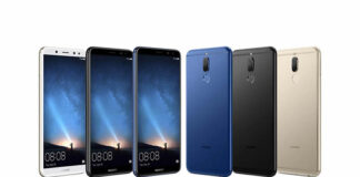 Huawei Nova 2i colours