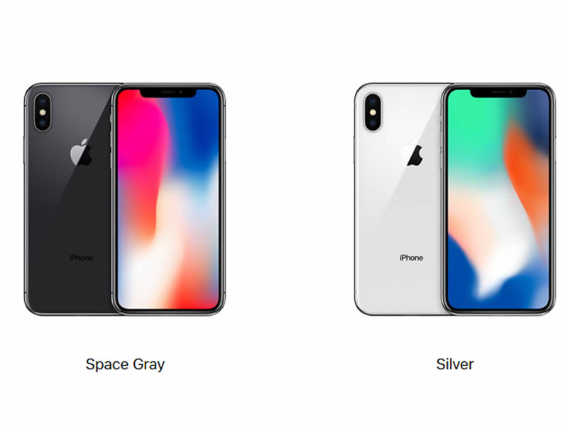 Iphone X colours