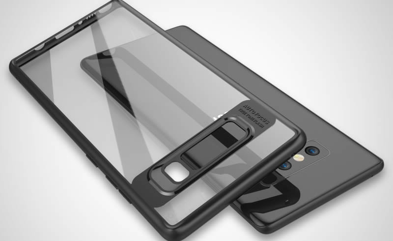 Samsung Galaxy Note S8 transparent Casing