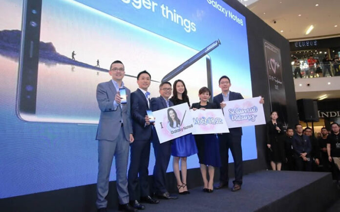 Samsung Malaysia Electronics and Song Ji-Hyo present Samsung's most anticipated device, the Galaxy Note8.