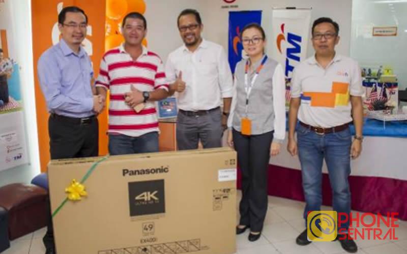 TM Sarawak 50,000 unifi customer