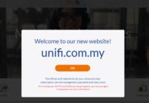 Unifi website