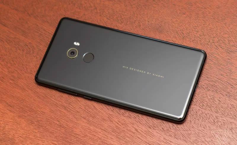 Xiaomi Mi Mix 2 rear