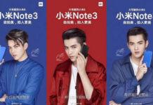 Xiaomi Mi Note 3 poster