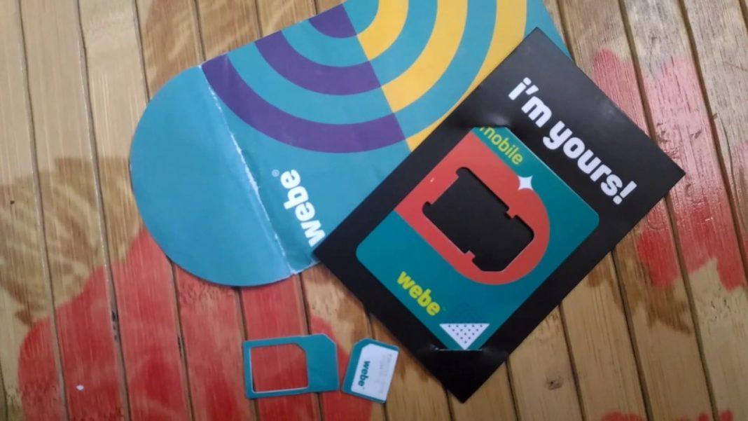 Webe sim pack