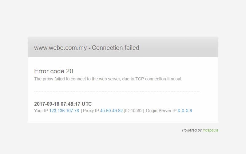 webe website