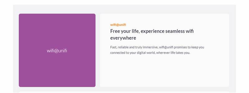 wifi at Unifi
