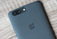 OnePlus 5 back phone