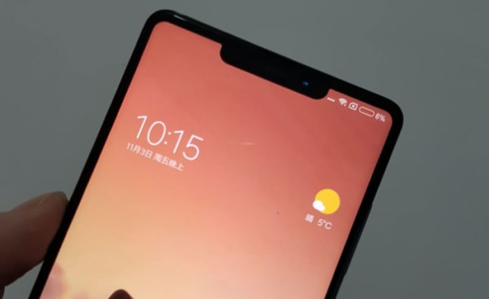Alleged images of the Mi Mix 2S