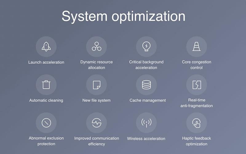 MIUI 9 system optimization