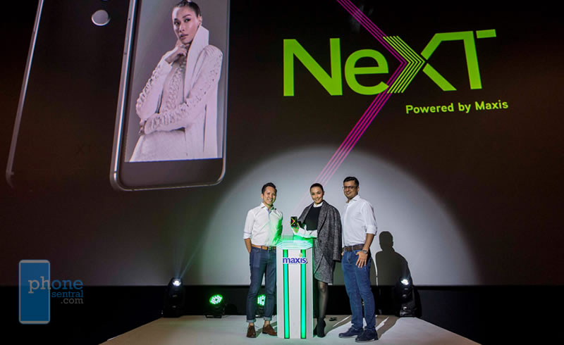 Maxis NeXT X1 launch
