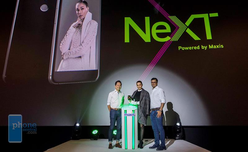 Maxis NeXT X1 launch