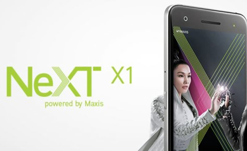 The NeXT X1 promo banner