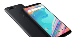 OnePLus 5T front and back