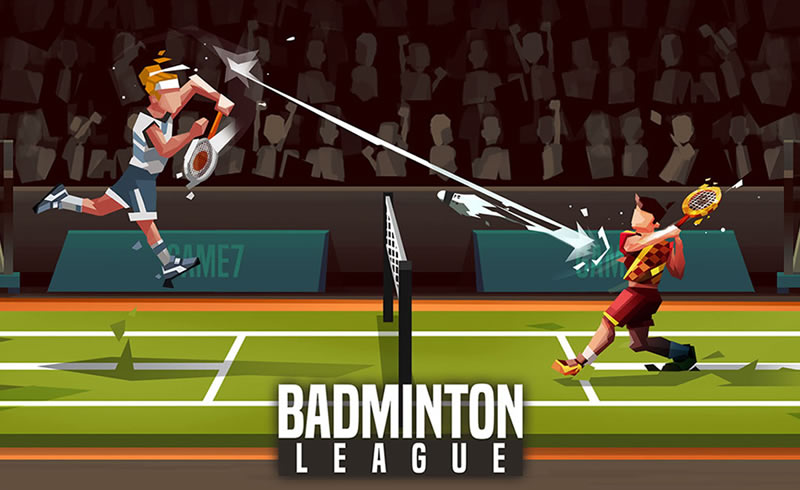 Badminton League action