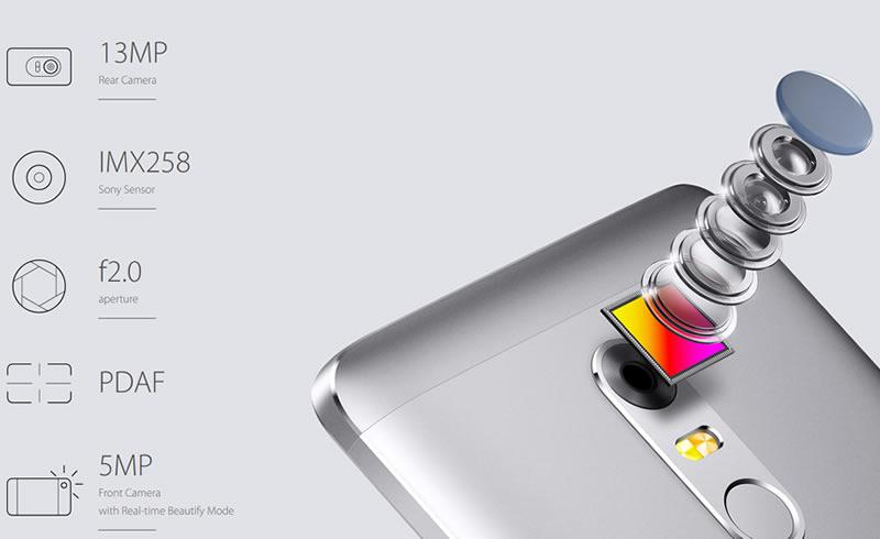 Neffos X1 camera specification