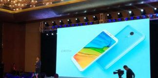 XIaomi Redmi 5 Plus launch