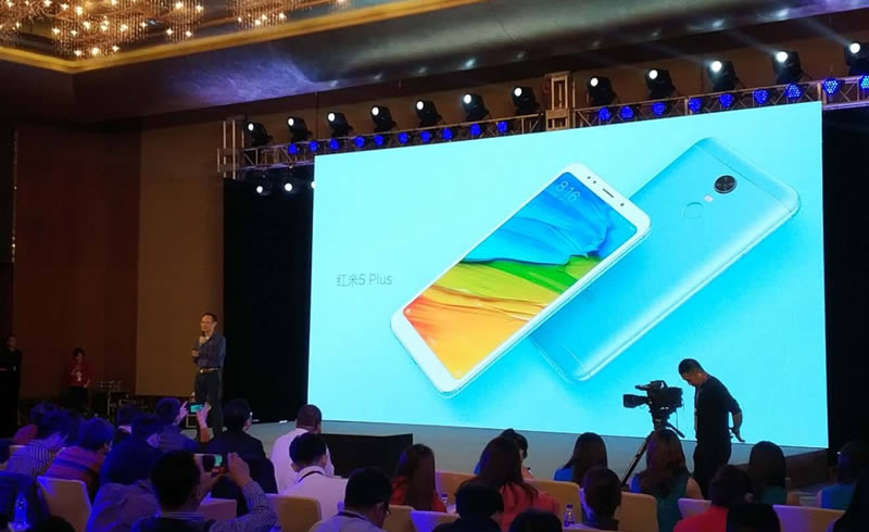 XIaomi Redmi 5 Plus launch