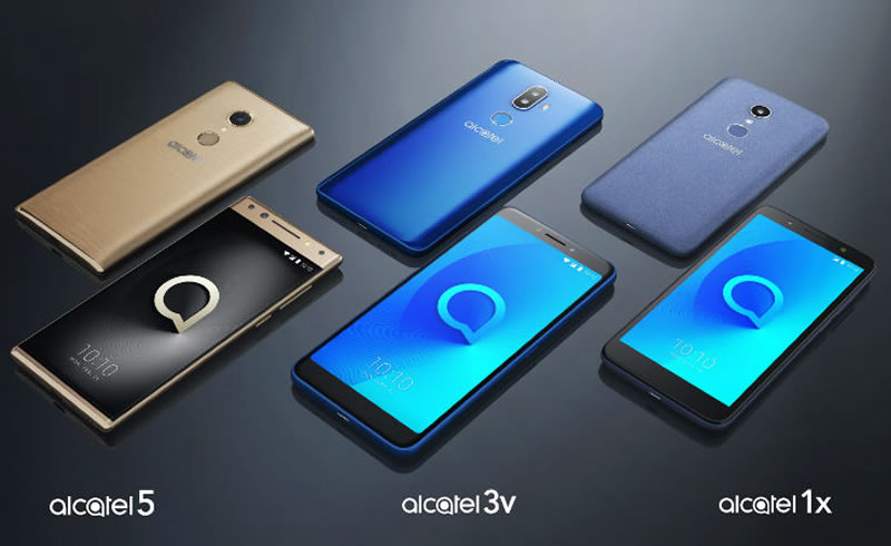Alcatel smartphone Series