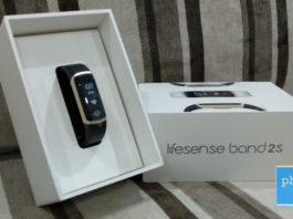 Lifesense Band 2S box looks premium