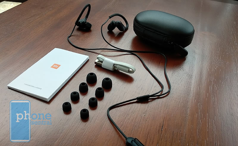 Xiaomi Bluetooth Sports Music Sports Earbuds Mini Version in the box
