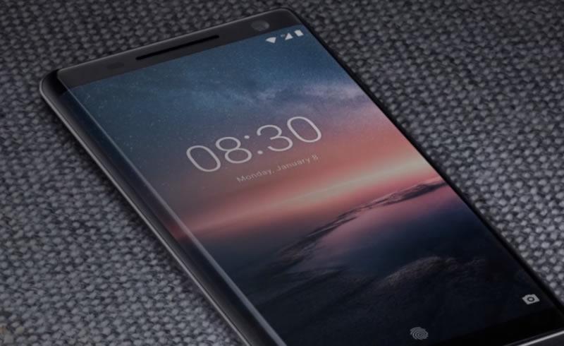 Nokia 8 Siccoro on table