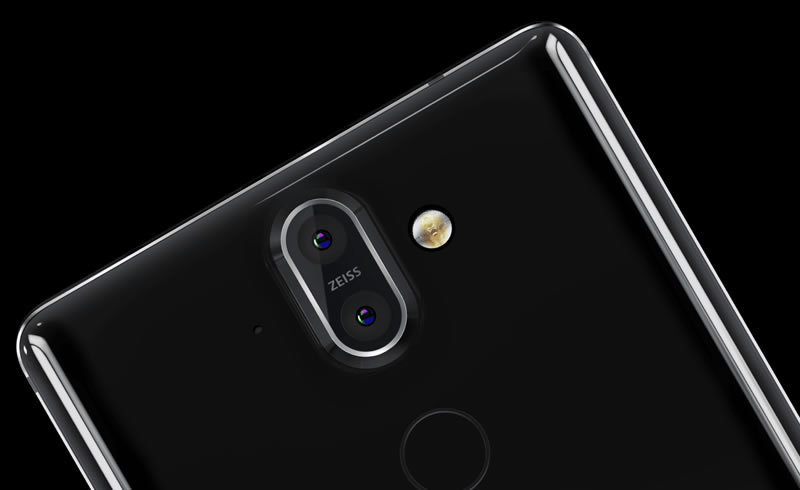 Nokia 8 Sirocco primary camera