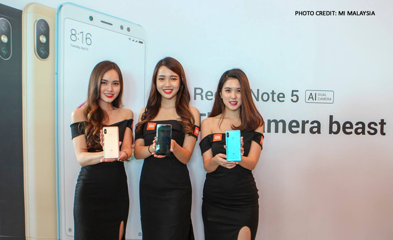 Redmi Note 5 promotion