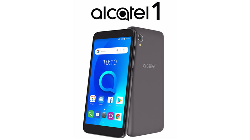 Alcatel promotion 2018