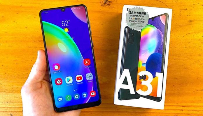 Samsung Galaxy A31 Myanmar