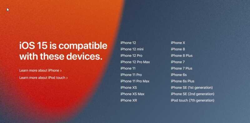iOS 15 highlights and availability