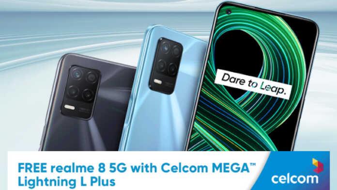 Celcom realme 8 5G